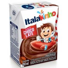 ACHOCOLATADO BEBIDA LACTEA UHT ITALAKINHO CHOCOLATE 24X200ML