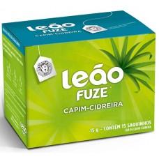 CHA LEAO FUZE 15S CAPIM CIDREIRA 1X15G ENV