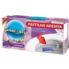 DESINFETANTE SANI ALL FLUSS PASTILHA ADESIVA LAVANDA 1X3UN