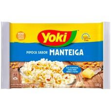 PIPOCA MICRO YOKI MANTEIGA 1X100G