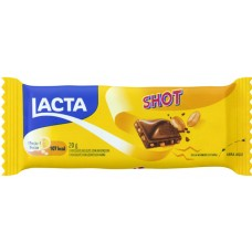 CHOCOLATE BARRA LACTA SHOT AMENDOIM 20X20G