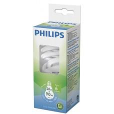 LAMPADA PHILIPS FLUORESCENTE COMPACTA TWISTER BRANCA 20W 1180LM 1X1UN 90W