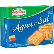BISCOITO ORQUIDEA AGUA E SAL 1X400G