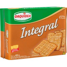 BISCOITO ORQUIDEA INTEGRAL 1X400G