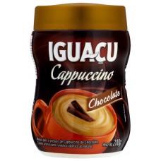 CAFE IGUACU CAPPUCCINO CHOCOLATE POTE 1X200G