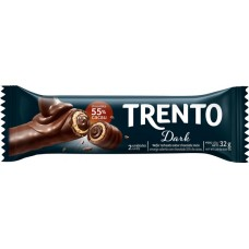 CHOCOLATE BARRA PECCIN TRENTO DARK WAFER 16X32G