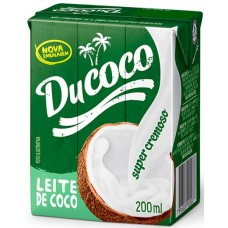 LEITE COCO DUCOCO CX 1X200ML
