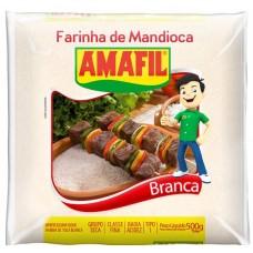 FARINHA MANDIOCA AMAFIL BRANCA 1X500G