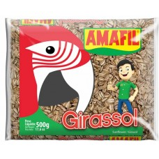 ALIMENTO AVES GIRASSOL AMAFIL 1X500G