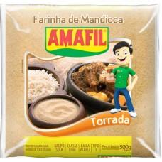 FARINHA MANDIOCA AMAFIL TORRADA 1X500G