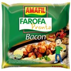 FARINHA FAROFA AMAFIL BACON 1X250G