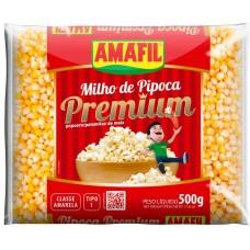 PIPOCA MILHO AMAFIL PREMIUM 20X500G