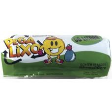 SACO LIXO PEGA LIXO 50L AZUL 10X50UN ROL
