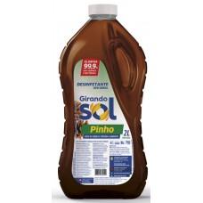 DESINFETANTE GIRANDO SOL PINHO 6X2L