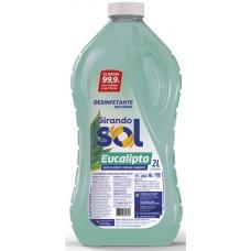 DESINFETANTE GIRANDO SOL EUCALIPTO 6X2L