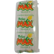 VELA MAX BRANCA NR 05 22G 12X8UN
