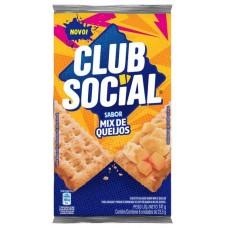 BISCOITO CLUB SOCIAL QUEIJO 1X141G