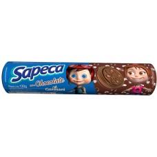 BISCOITO SAPECA RECHEADO CHOCOLATE 1X120G