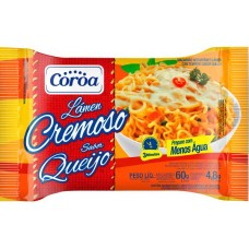 MASSA COROA LAMEN CREMOSO QUEIJO 1X60G