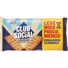 BISCOITO CLUB SOCIAL INTEGRAL TRADICIONAL 1X288G