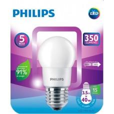 LAMPADA PHILIPS LED BULBO BRANCA 3,5W 350LM 1X1UN 40W