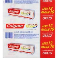 CREME DENTAL COLGATE TOTAL 12 CLEAN MINT PROMO 12X90G