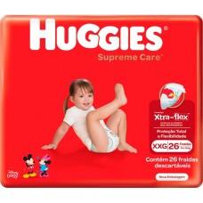 FRALDA HUGGIES SUPREME CARE MEGA XXG 1X26UN XXG