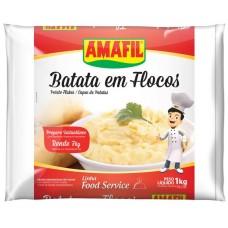 PURE AMAFIL BATATAS FLOCOS 1X1KG PROF