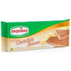 BISCOITO ORQUIDEA WAFER CHOCOLATE BRANCO 1X120G