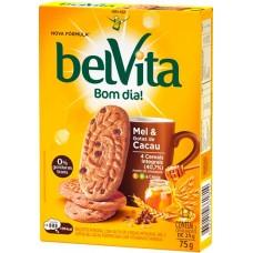 BISCOITO BELVITA MEL CACAU 1X75G