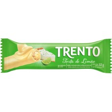 CHOCOLATE BARRA PECCIN TRENTO TORTA LIMAO WAFER 16X32G