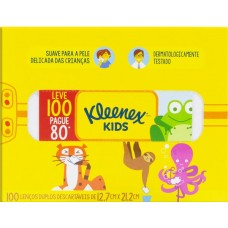 LENCO PAPEL KLEENEX BOX ORIGINAL PROMO 1X100UN