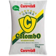 ACUCAR CRISTAL COLOMBO 10X1KG