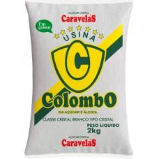 ACUCAR CRISTAL COLOMBO 15X2KG