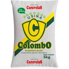 ACUCAR CRISTAL COLOMBO 6X5KG