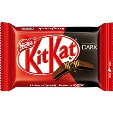 CHOCOLATE BARRA NESTLE KIT KAT WAFER DARK 24X41,5G
