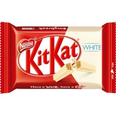 CHOCOLATE BARRA NESTLE KIT KAT WAFER WHITE 24X41,5G