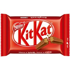 CHOCOLATE BARRA NESTLE KIT KAT WAFER AO LEITE 24X41,5G