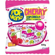 PIRULITO RICLAN BOLA CHICLE POP MANIA CHERRY 1X50UN
