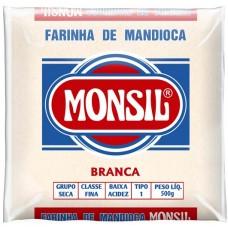 FARINHA MANDIOCA MONSIL BRANCA 1X500G