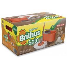 BALDE PLASTICO BRILHUS COM MOP SPIN REFIL 2051 1X1UN
