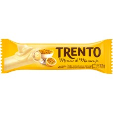 CHOCOLATE BARRA PECCIN TRENTO MOUSE MARACUJA WAFER 16X32G