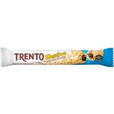 CHOCOLATE BARRA PECCIN TRENTO MASSIMO BRANCO COOKIES WAFER 16X30G