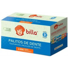 PALITO DENTAL BILLA BAMBU 1X2000UN
