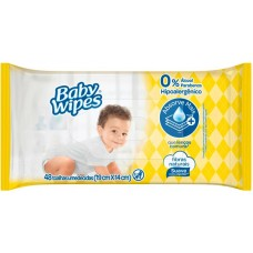 LENCO UMEDECIDO BABY WIPES 1X48UN