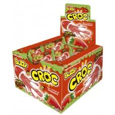 CHICLE BUZZY CROC MORANGO 1X40UN