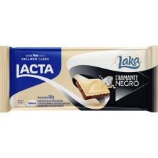 CHOCOLATE BARRA LACTA  LAKA DIAMANTE NEGRO 17X90G