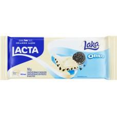 CHOCOLATE BARRA LACTA LAKA OREO 17X90G