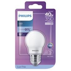 LAMPADA PHILIPS LED BULBO FRIA 3,5W 350LM 1X1UN 40W
