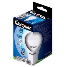 LAMPADA RAYOVAC LED BULBO BRANCA 9,5W 1018LM 1X1UN 75W